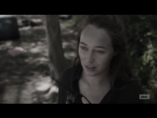 4x15   I wanted to leave you on the side of the road. FearTWD   Alycia Debnam-Carey as Alicia Clark