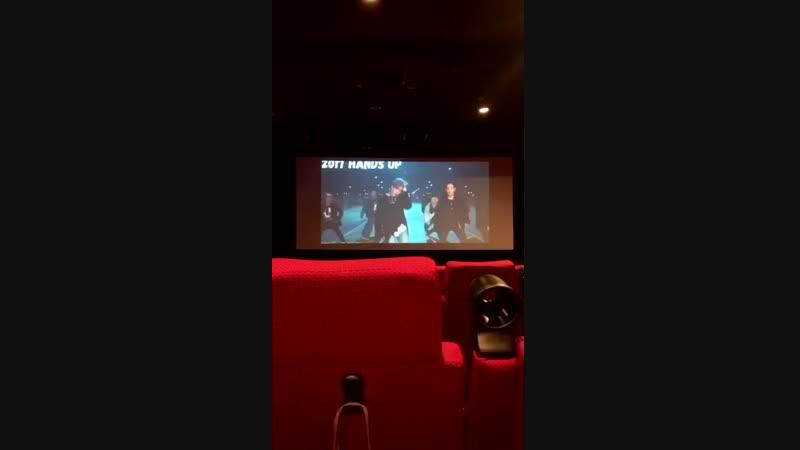 OTHER — Реклама в кинотеатре Lotte Cinema Broad Way ко Дню рождения Ёнджэ и 7-ой годовщине B.A.P