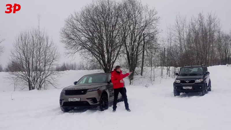 УАЗ Патриот или Range Rover Velar — кто кого на бездорожье