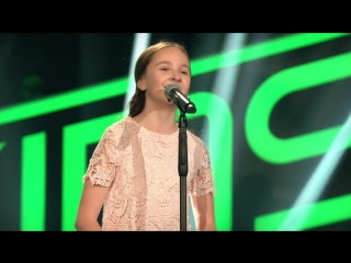 Édith Piaf - Non, Je Ne Regrette Rien (Sofie) ¦ The Voice Kids 2017 ¦ Blind Auditions ¦ SAT.1