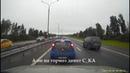 Странный водитель оттормаживает не дает обогнать UAZ Patriot