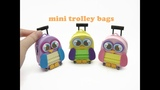 DIY Doll Accessories Mini Trolley School Bag with Zipper - Back to School!