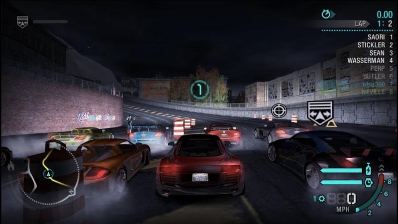 NFS Carbon Hidden race 21 1 1 on converted Rockport City MW