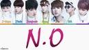 BTS 防弾少年団 'N O' Japanese Lyrics KAN ROM ENG Color Coded