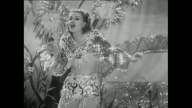 Grace Bradley (Mrs Hopalong Cassidy) Sings and Dances