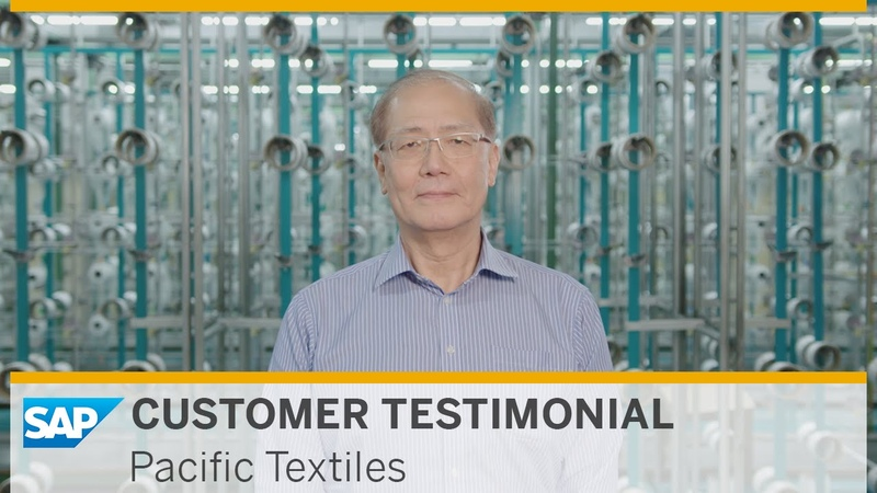 Pacific Textiles Digital Transformation toward Industry 4.0 with SAP HANA® for Fabric Manufacturing