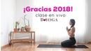Clase Gracias 2018 bienvenido 2019 Brenda yoga