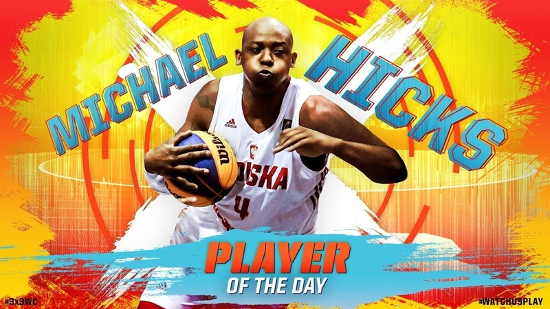 Michael Hicks (Poland) | Player of the Day | FIBA 3x3 World Cup 2018