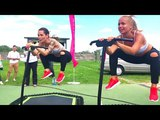 Summer Outdoor Jumping Fitness Workout MasterClass Club Dance Vocal Electro Music Mix