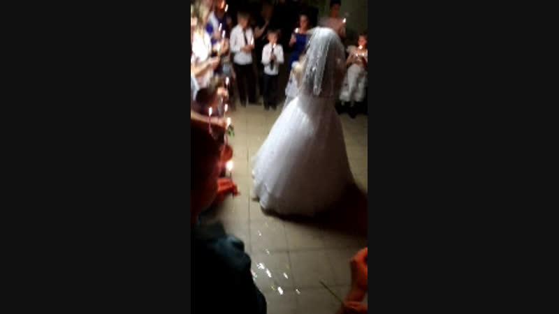 свечи свадьба