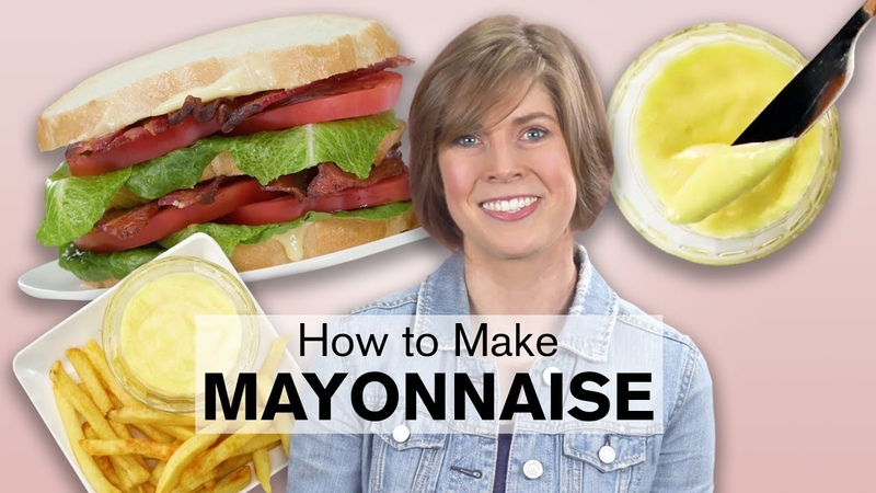 Homemade Mayonnaise is Easy to Make   Dish with Julia   Allrecipes.com