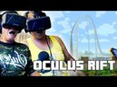 My Parents Ride the Minecraft Rollercoaster | Oculus Rift Funny Reactions