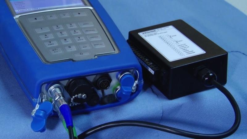 Монтаж портативного расходомера OPTISONIC 6300 P
