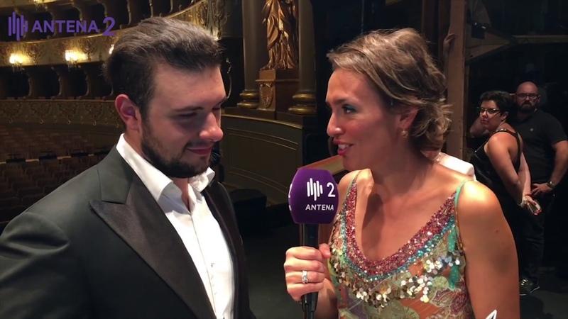 Entrevista Pavel Petrov tenor Operalia 2018 Gala Antena 2 RTP