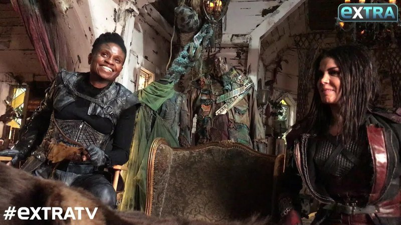 Life in the Bunker! The 100s Marie Avgeropoulos Adina Porter Tease Season 5