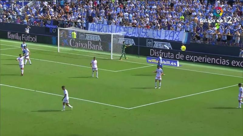 Малага CF - CF Райо Махадаонда, 1-0, Сегунда 2018-2019, 7 тур