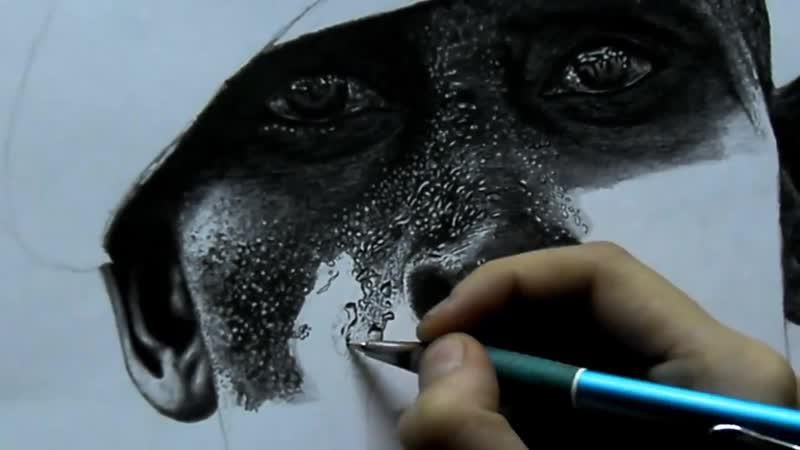 Рисунок карандашом гиперреализм drawing pensils art realis