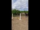 Первые прыжки Арины на Биплане
