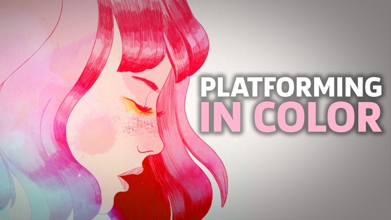 Gris Gameplay: 20 Minutes Of Beautiful, Colorful Platforming