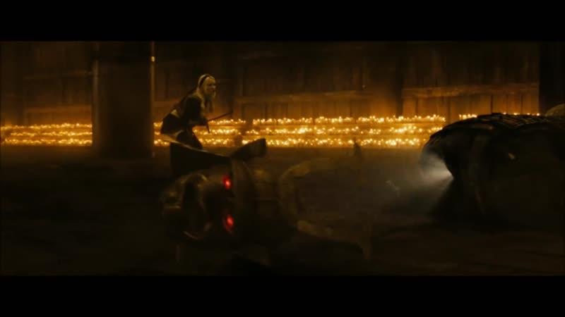 Запрещенный прием \ Sucker Punch - Samurai Fight Scene - HD 1080p