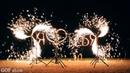 Вертушки и огненные буквы на день рождения | Ростов-на-Дону | GOF show