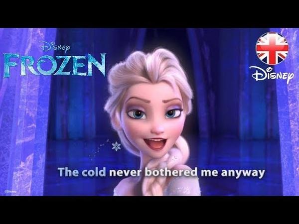 FROZEN   Let It Go Sing-along   Official Disney UK