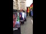 Chemnitz 01.09.2018 Bei der AfD-Pegida-Demo wird nicht nur um Daniel Hillig getrauert.