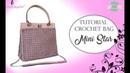 TUTORIAL ~ DIY CROCHET BAG MINI STAR | WITH SUB | PUNTO FANTASIA | UNCINETTO D'ARGENTO®