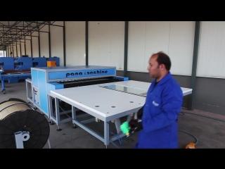PR-180 INSULATED GLASS PRESS MACHINE (HOT PRESS)