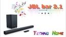 Обзор на лучший САУНДБАР JBL BAR 2.1! Лучший по звуку, а главное дешевый.