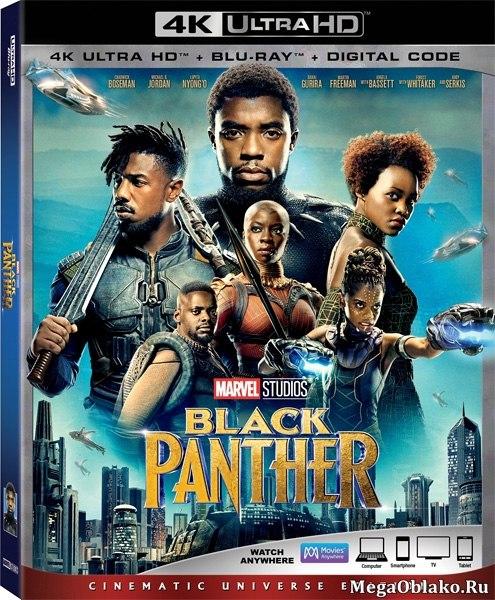 Чёрная Пантера / Black Panther (2018) | UltraHD 4K 2160p