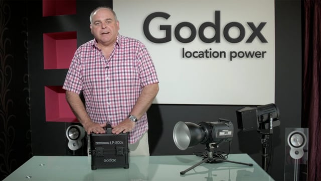 Godox LP-800x Li-ion battery inverter power supply