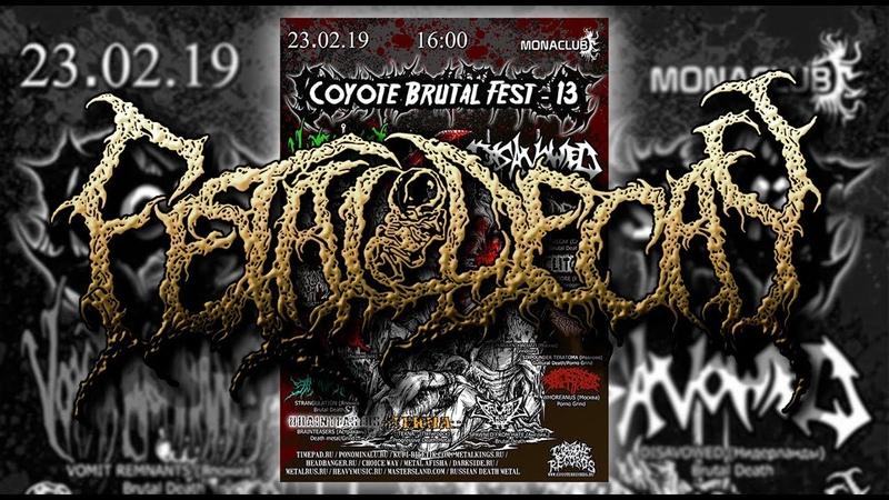 Fetal Decay ( приглашаем на Coyote Brutal Fest 13 )