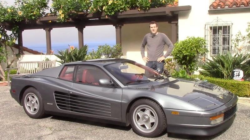 Вот почему Ferrari Testarossa взлетает в цене