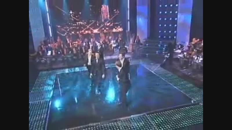 WESTLIFE KEVIN SPACEY - FLY ME TO THE MOON / SHES THE ONE (Live)