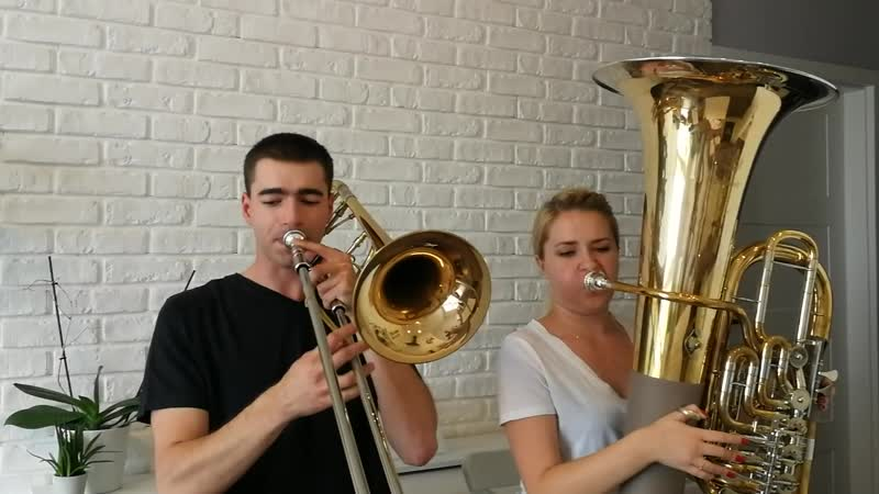 Trombone&Tuba Cover - Shape of You - Ed Sheeran - Double Brass