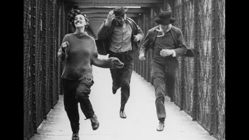 Жюль и Джим 1962 Jules et Jim реж Франсуа Трюффо драма мелодрама