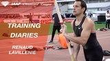 Training Diaries Shanghai 2018 Renaud Lavillenie