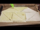 Сочные треугольники из лаваша с курицей