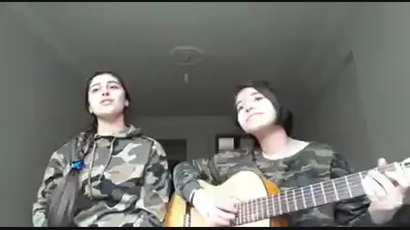 Курдянки исполняют курдскую песню в защиту Африна (360p).mp4