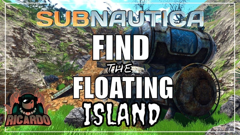 Subnautica How to find The Floating Island Multiroom Blueprints