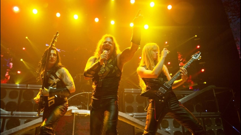 Manowar Warriors Of The World United album Hell on Wheels 1997 (Live at Monsters Of Rock Brazil 2015)
