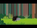 Веселая развивающая песня для детей - ЁЖИК - Мультики про животных для малышей.mp4
