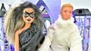 Хэллоуин. Куклы Барби и Кен в костюмах! Сладость или гадость