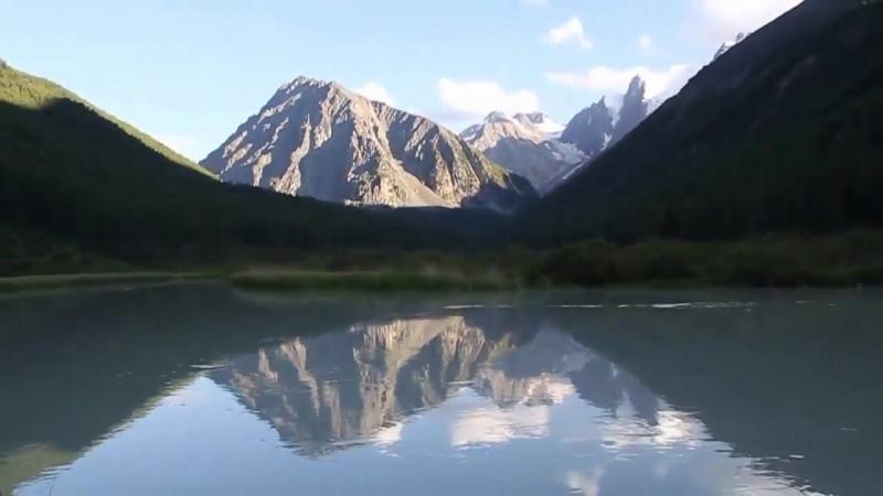 Шавлинские озера и река Шавла (Алтай)