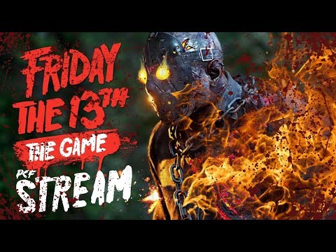 [СТРИМ] ХРУСТАЛЬНОЕ ОЗЕРО \ Friday the 13th: The Game \ PixelCakesFan