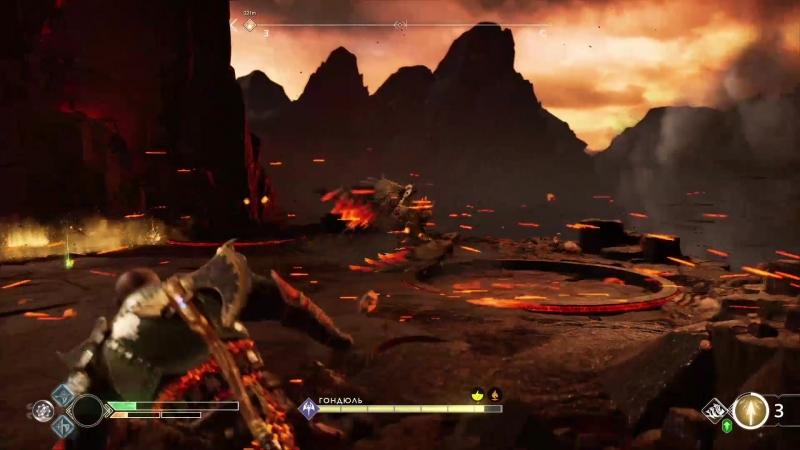 Прохождение God of War 35 (PS4) - Валькирия Гондюль и новое поражение