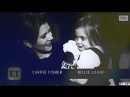 Carrie fisher billie lourd i was made for loving you
