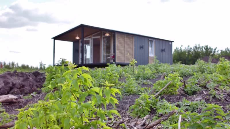 Модульный дачный дом 42м2 Донгор