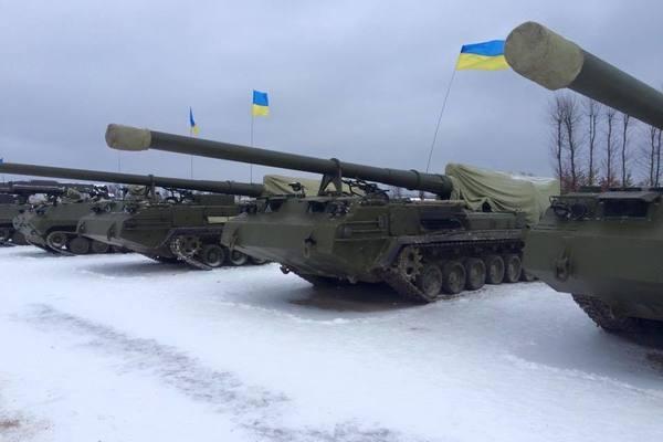 Применение артиллерии ВСУ в ходе войны на Донбассе